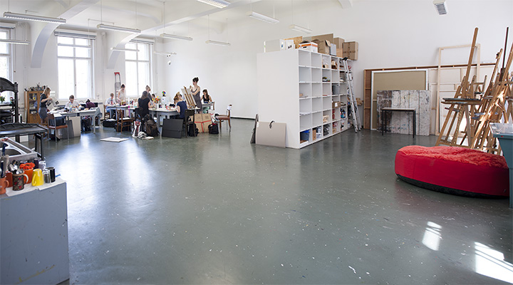 Atelier_Malerei_Institut-Kunstpaedagogik-Leipzig