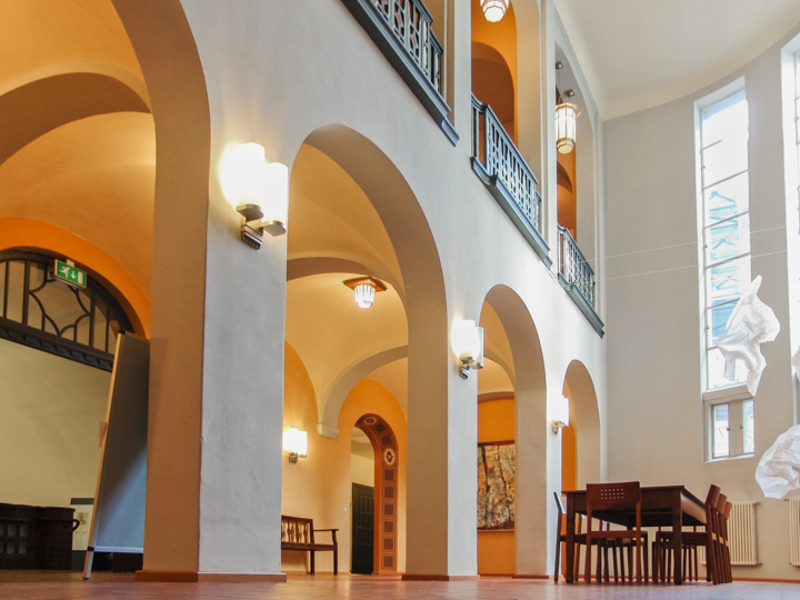 Foyer des Geschwister-Scholl-Hauses