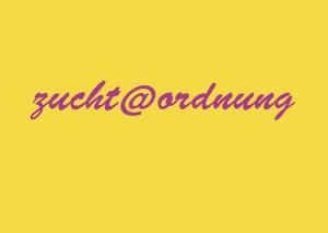 Logo Zucht @ Ordnung
